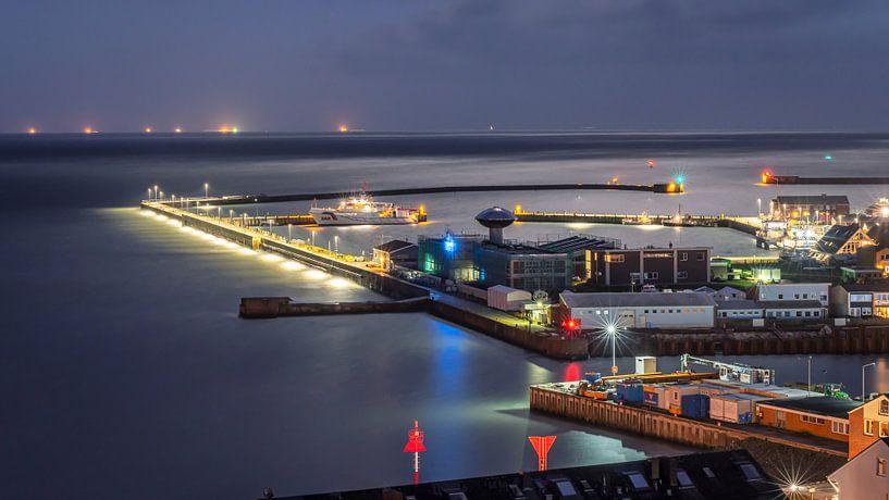 Port Helgoland, Allemagne sur Martijn van Dellen