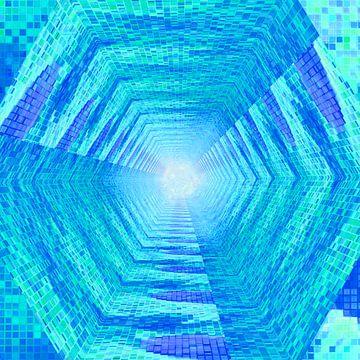 Tunnel #6 van Leopold Brix