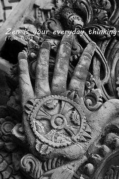 Zen is je dagelijks denken. van Cora Unk