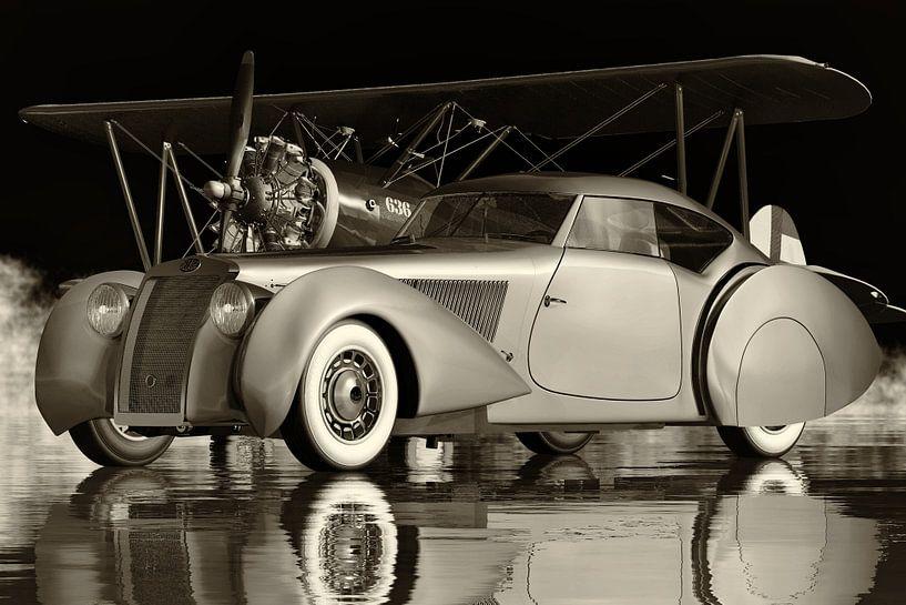 Delage D8-120 Aerosport uit 1938 Een Franse luxe sportwagen van Jan Keteleer