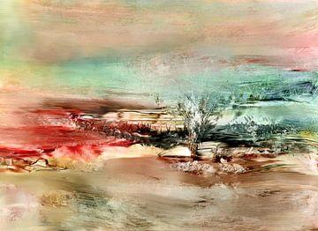 Landschaft  Fantasie von Claudia Gründler