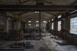 Oude fabriekshal van Maikel Brands