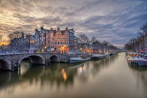Amsterdam papiermolensluis van