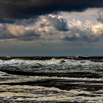 Texel, Nordsee von Jakob Huizen van