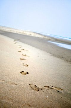 My Summer Beachsteps van Wouter Goedvriend