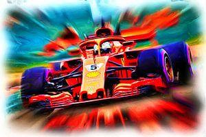 Vettel's Monoposto nicknamed Loria