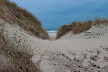 Strandovergang van Annemarie van der Hilst