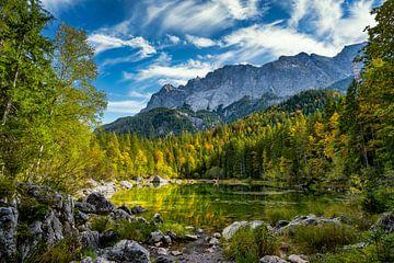 De Frillensee bij de Eibsee in de Alpen van PhotoArt Thomas Klee