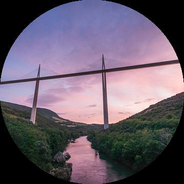 Viaduct van Millau van Gerrit Anema