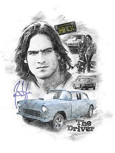 James Taylor as the Driver