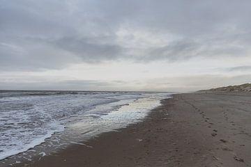 Strand en Zee van Dixy Kracht