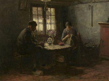 Rustig uurtje, Hendrik Valkenburg von Meesterlijcke Meesters