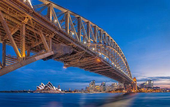 Harbour Bridge, Sydney von Sander Sterk