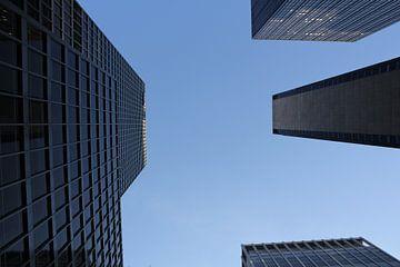 Wolkenkrabbers 3 / Skyscrapers 3 sur Merano Sanwikrama