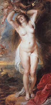 Peter Paul Rubens, Andromeda - 1640er Jahre von Atelier Liesjes