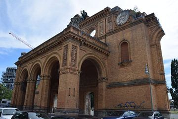 Fassade Berlin Anhalter Bahnhof von Jeroen Franssen