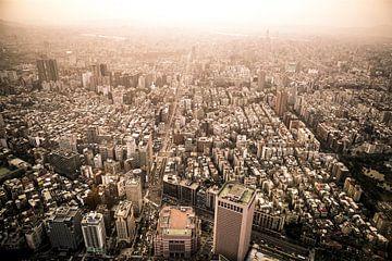 Skyline Taipei, Azie, Taiwan