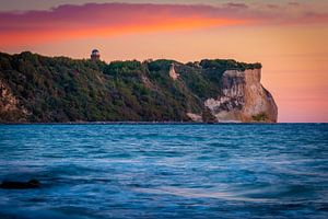 Kaap Arkona bij zonsopgang van Martin Wasilewski