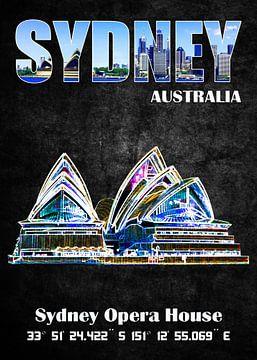 Sydney sur Printed Artings