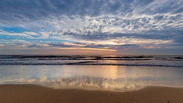 Strand Petten aan Zee van Thijs Vermeer