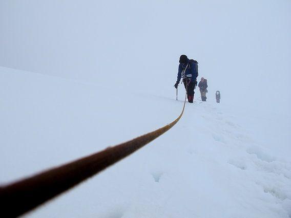 Whiteout Climbing von menno visser