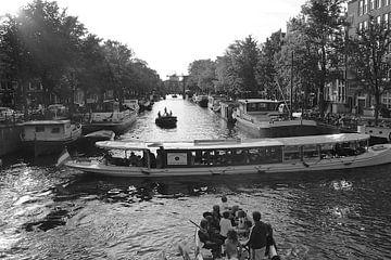 Amsterdam Brauwersgracht von Marianna Pobedimova