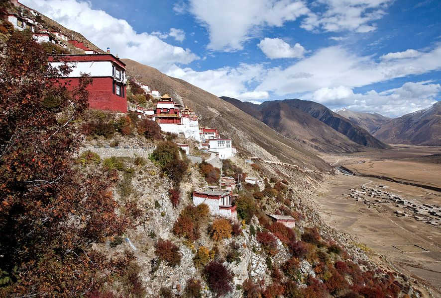 Klooster in Tibet