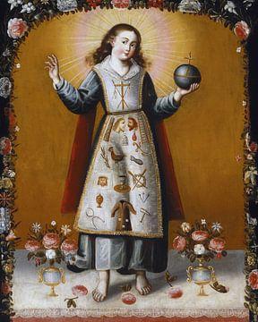 Anonym. Christuskind mit Passionswerkzeugen