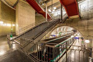 Metrostation in Parijs