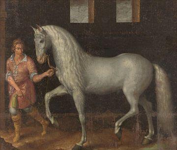 Spanischer Krieger, Jacob de Gheyn (II) (digital restauriert)