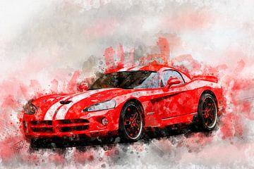 Dodge Viper SRT von Theodor Decker