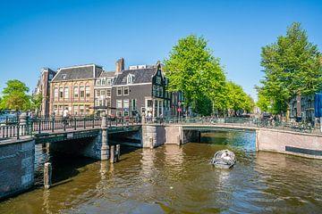 Prinsengracht und Leidsegracht von Ivo de Rooij