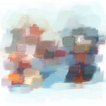 Abstrakte Pinselstriche IV von Maurice Dawson