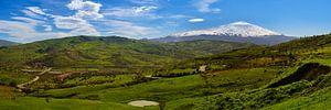 Sicilië, zicht op de Etna