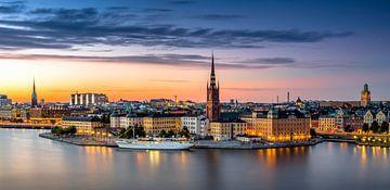 Stockholm Panormama van Adelheid Smitt