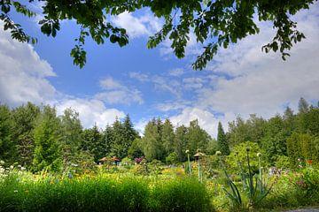Garten im Nepal Himalaya Pavillon Wiesent bei Regensburg von Roith Fotografie