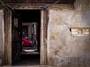 Binnenkijken bij de Nepalese buren in Kathmandu van Rik Pijnenburg