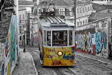 Lissabon Hügelfahrstuhl von Joachim G. Pinkawa