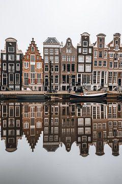 Huizen op Herengracht, Amsterdam van Lorena Cirstea