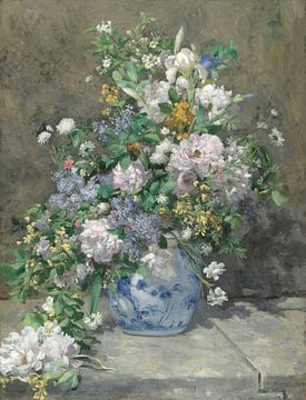 Frühlingsstrauss, Pierre-Auguste Renoir