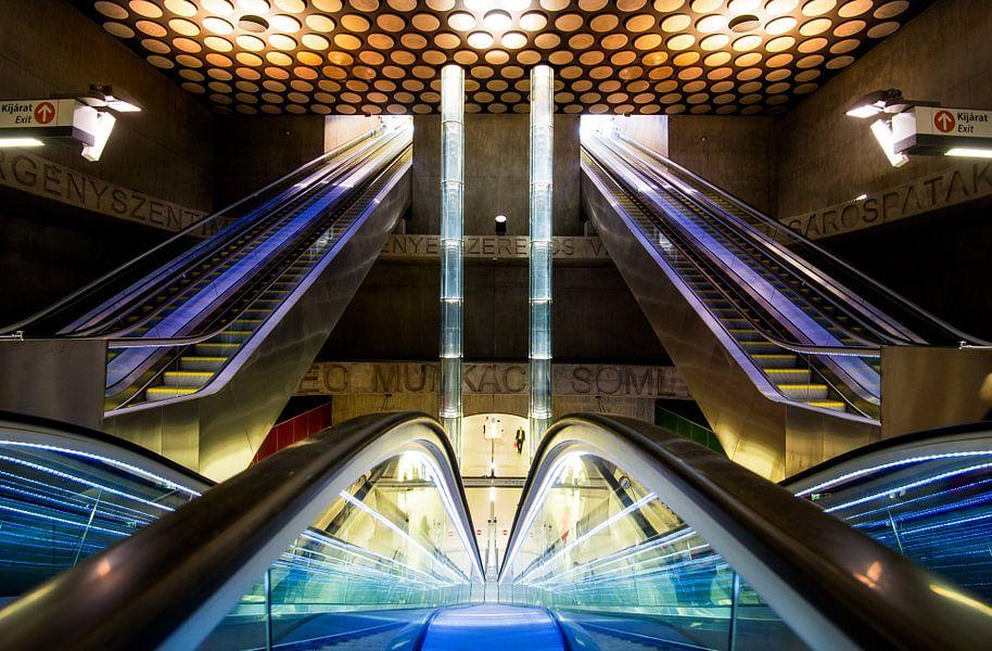 Metrostation  Boedapest Rákóczi tér
