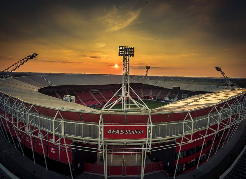 Afas Stadion Alkmaar von Mario Calma