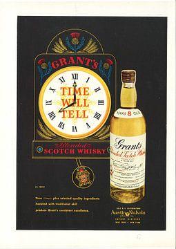Vintage Werbung 1956 von Jaap Ros