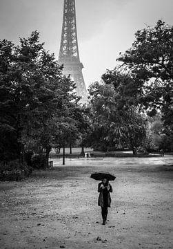 Parijs in de regen sur Emil Golshani