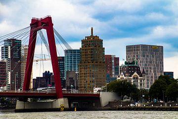 Rotterdam - stukje stad van Helga van de Kar