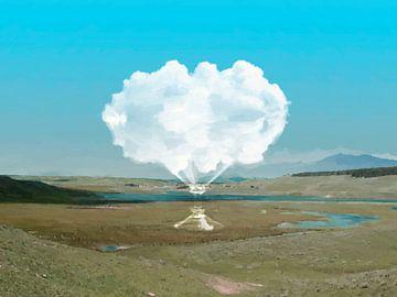 Bewolkt glas van Catherine Fortin