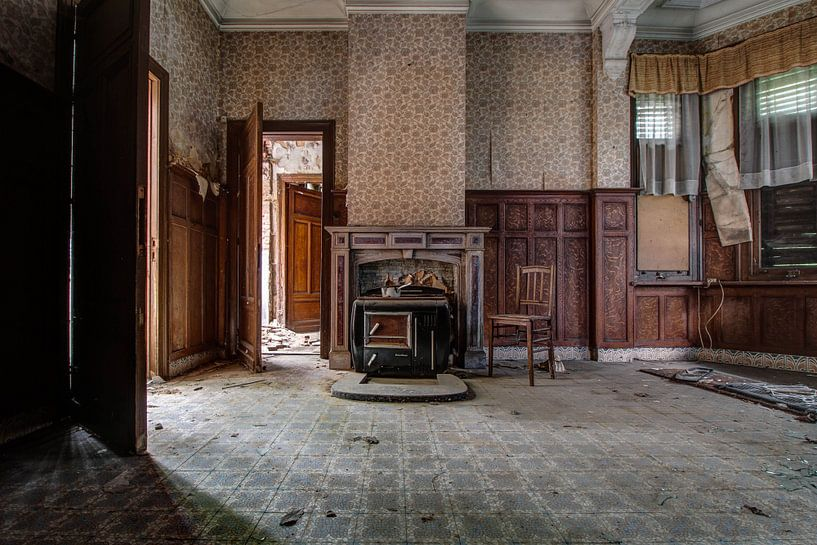 De woonkamer van Anya Lobers