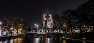 De Oldehove, scheve Kerktoren in Leeuwarden. van