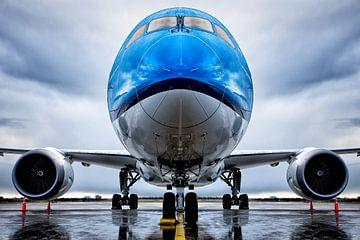 Symmetrie Boeing 787-9 Stijl von Dennis Janssen