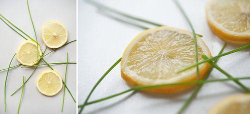 Collage Geel Fruit van